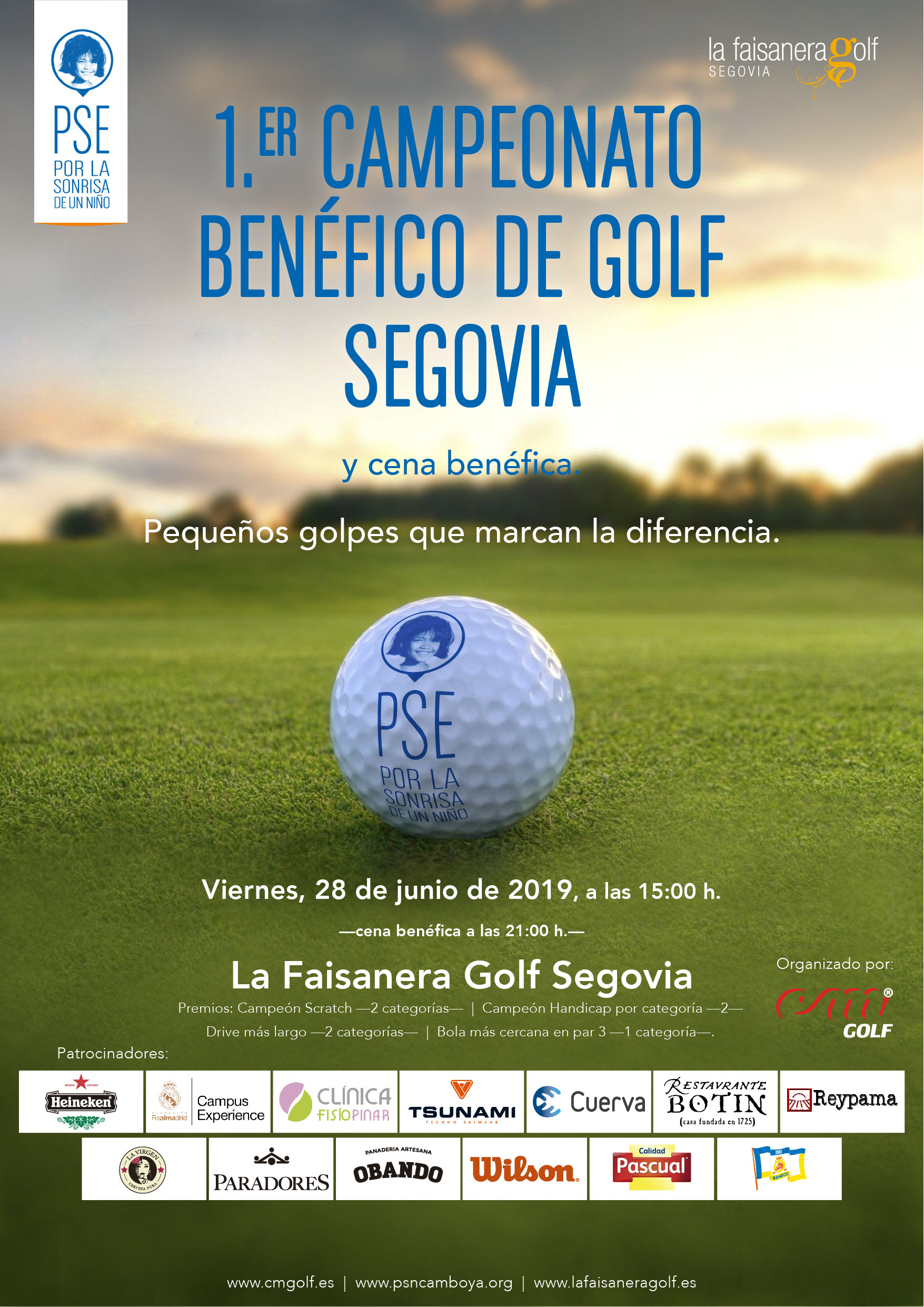 Golf beneficoç